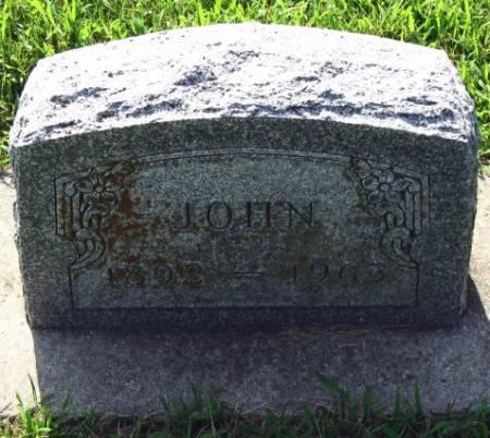 LOVE, JOHN - Mitchell County, Iowa | JOHN LOVE