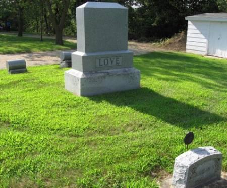 LOVE, JOHN (FAMILY LOT) - Mitchell County, Iowa | JOHN (FAMILY LOT) LOVE