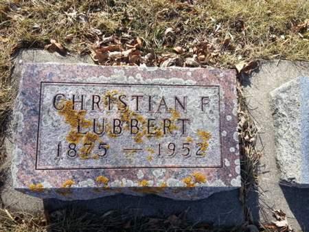LUBBERT, CHRISTIAN F. - Mitchell County, Iowa | CHRISTIAN F. LUBBERT