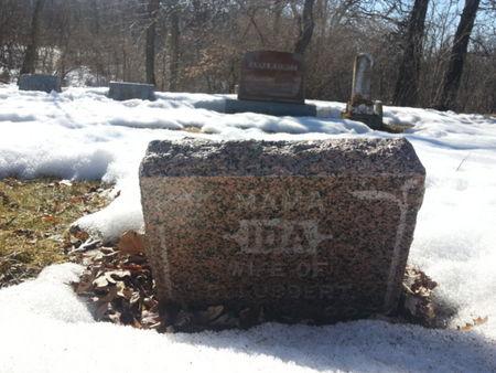 LUBBERT, IDA - Mitchell County, Iowa | IDA LUBBERT
