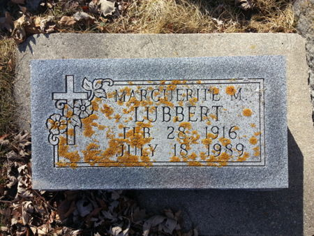 LUBBERT, MARGUERITE M. - Mitchell County, Iowa | MARGUERITE M. LUBBERT