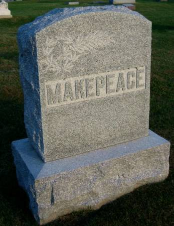 MAKEPEACE, CHARLES T. (FAMILYSTONE) - Mitchell County, Iowa | CHARLES T. (FAMILYSTONE) MAKEPEACE