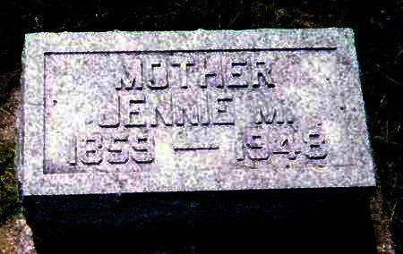 BURTCH MARKHAM, JENNIE - Mitchell County, Iowa | JENNIE BURTCH MARKHAM