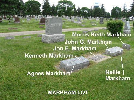 MARKHAM, KENNETH (LOT) - Mitchell County, Iowa | KENNETH (LOT) MARKHAM