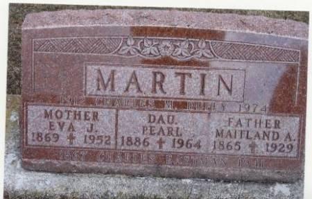 MARTIN, MAITLAND A. - Mitchell County, Iowa | MAITLAND A. MARTIN