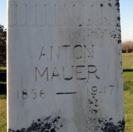 MAUER, ANTON - Mitchell County, Iowa | ANTON MAUER