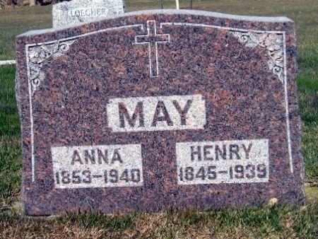 MAY, ANNA - Mitchell County, Iowa | ANNA MAY