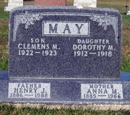 MAY, ANNA M. - Mitchell County, Iowa | ANNA M. MAY
