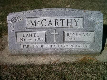 MCCARTHY, DANIEL - Mitchell County, Iowa | DANIEL MCCARTHY