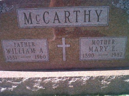 MCCARTHY, WILLIAM A. - Mitchell County, Iowa | WILLIAM A. MCCARTHY