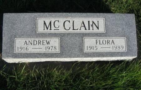 MCCLAIN, FLORA - Mitchell County, Iowa | FLORA MCCLAIN