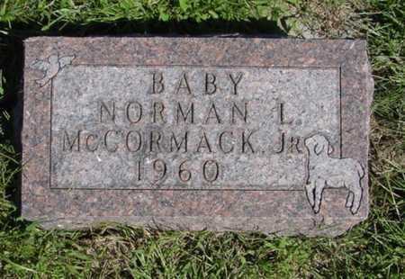 MCCORMACK, NORMAN L. - Mitchell County, Iowa   NORMAN L. MCCORMACK