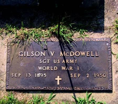 MCDOWELL, GILSON V. - Mitchell County, Iowa | GILSON V. MCDOWELL