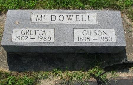 MCDOWELL, GRETTA - Mitchell County, Iowa   GRETTA MCDOWELL