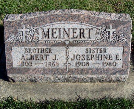 MEINERT, JOSEPHINE E. - Mitchell County, Iowa | JOSEPHINE E. MEINERT