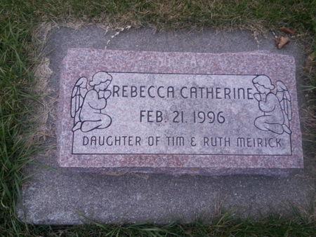 MEIRICK, REBECCA CATHERINE - Mitchell County, Iowa   REBECCA CATHERINE MEIRICK
