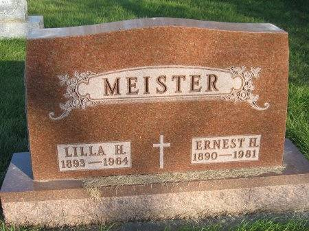 MEISTER, LILLA H. - Mitchell County, Iowa | LILLA H. MEISTER