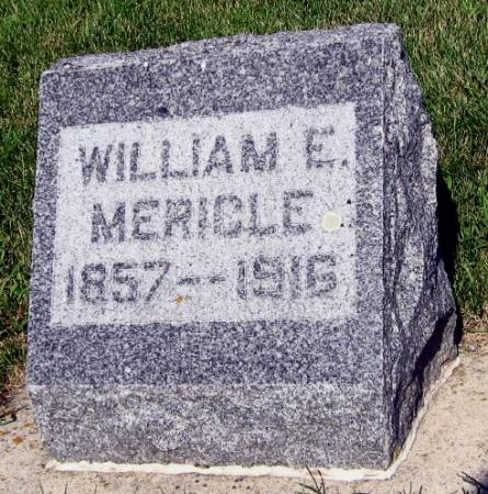 MERICLE, WILLIAM E. - Mitchell County, Iowa | WILLIAM E. MERICLE