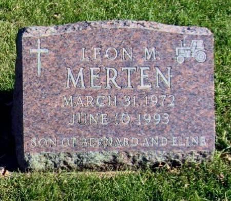 MERTEN, LEON M. - Mitchell County, Iowa | LEON M. MERTEN