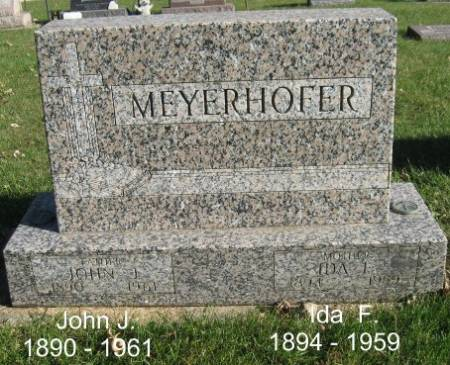 MEYERHOFER, JOHN J. - Mitchell County, Iowa | JOHN J. MEYERHOFER