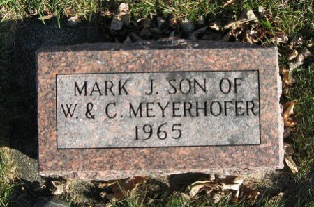 MEYERHOFER, MARK J. - Mitchell County, Iowa   MARK J. MEYERHOFER