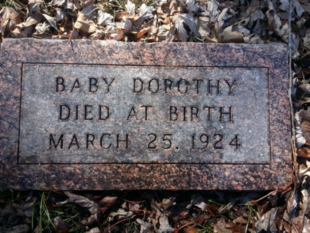 MILLER, DOROTHY (BABY) - Mitchell County, Iowa | DOROTHY (BABY) MILLER