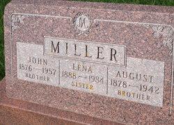 MILLER, LENA - Mitchell County, Iowa | LENA MILLER