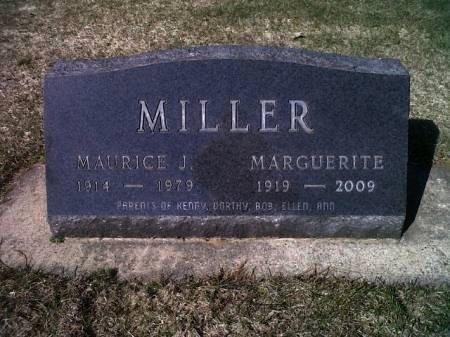 MILLER, MARGUERITE - Mitchell County, Iowa   MARGUERITE MILLER