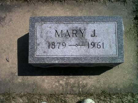 MILLER, MARY J. - Mitchell County, Iowa | MARY J. MILLER
