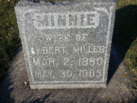 MILLER, MINNIE - Mitchell County, Iowa | MINNIE MILLER