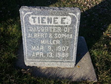 MILLER, TIENE E. - Mitchell County, Iowa | TIENE E. MILLER