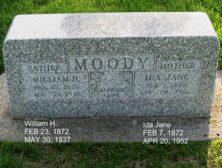 MOODY, WILLIAM H. - Mitchell County, Iowa | WILLIAM H. MOODY