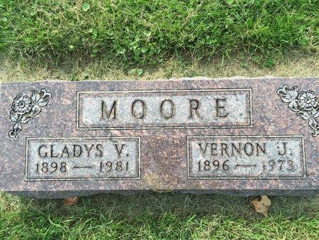 MOORE, GLADYS VERNA - Mitchell County, Iowa | GLADYS VERNA MOORE