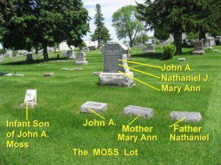 MOSS, JOHN A. (LOT) - Mitchell County, Iowa | JOHN A. (LOT) MOSS