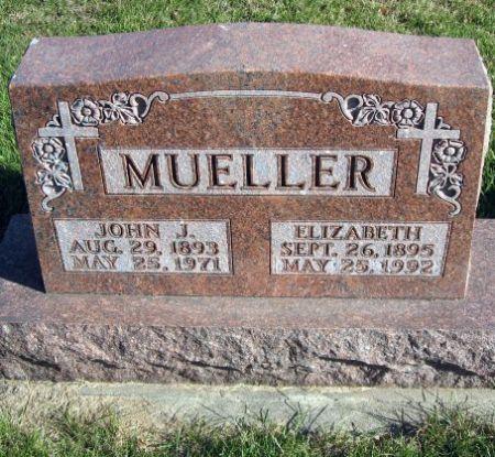 MUELLER, JOHN J. - Mitchell County, Iowa   JOHN J. MUELLER
