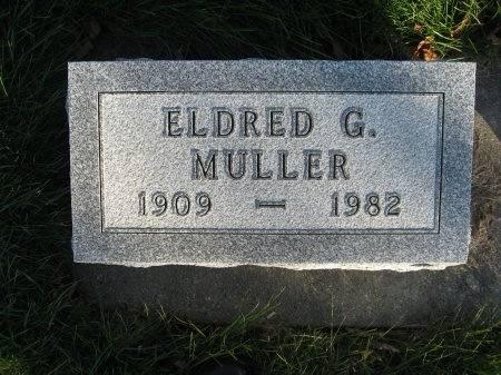MULLER, ELDRED GUSTAVE - Mitchell County, Iowa | ELDRED GUSTAVE MULLER
