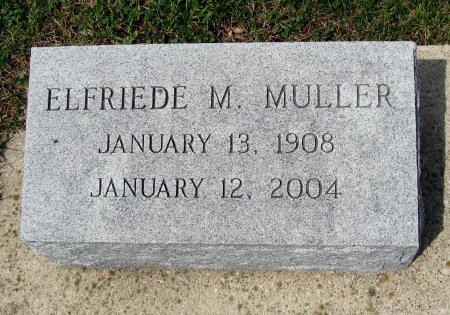 MULLER, ELFRIEDE MARGARET - Mitchell County, Iowa   ELFRIEDE MARGARET MULLER