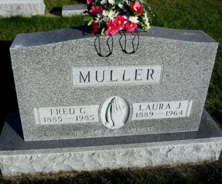 MULLER, FRED C. - Mitchell County, Iowa | FRED C. MULLER