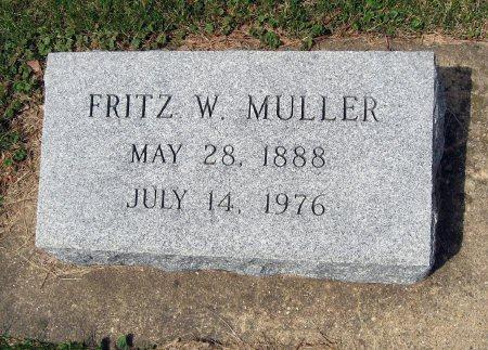 MULLER, FRITZ W. - Mitchell County, Iowa | FRITZ W. MULLER