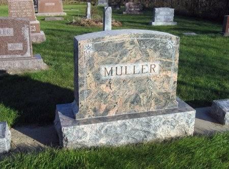 MULLER, GUSTAV (LOT) - Mitchell County, Iowa | GUSTAV (LOT) MULLER