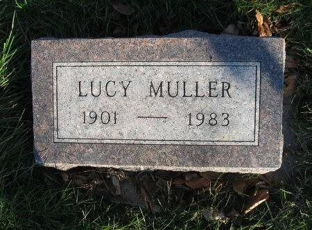 MULLER, LUCY CHRISTINE - Mitchell County, Iowa | LUCY CHRISTINE MULLER