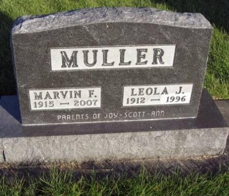 MULLER, LEOLA - Mitchell County, Iowa | LEOLA MULLER