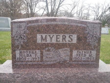 MYERS, HILDA F. - Mitchell County, Iowa | HILDA F. MYERS