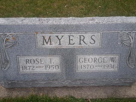 MYERS, GEORGE W. - Mitchell County, Iowa | GEORGE W. MYERS