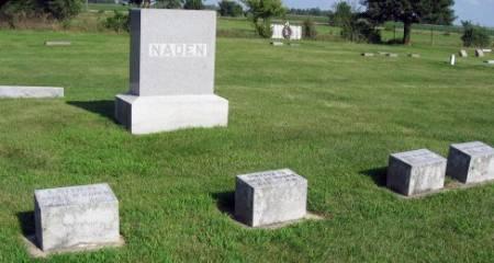 NADEN, JAMES (FAMILY LOT) - Mitchell County, Iowa   JAMES (FAMILY LOT) NADEN