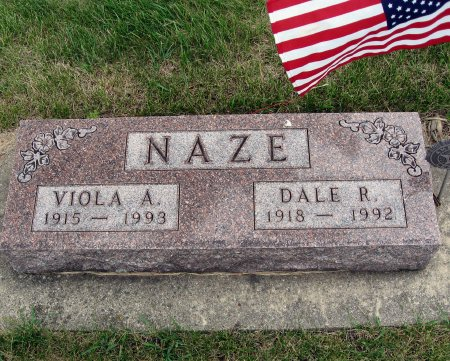 NAZE, VIOLA A. - Mitchell County, Iowa | VIOLA A. NAZE