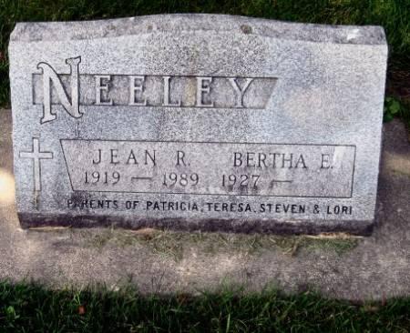 NEELEY, JEAN ROLAND - Mitchell County, Iowa   JEAN ROLAND NEELEY