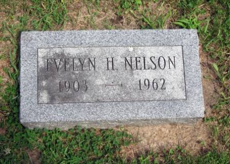 NELSON, EVELYN H. - Mitchell County, Iowa   EVELYN H. NELSON