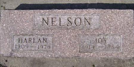 NELSON, HARLAN LEROY - Mitchell County, Iowa   HARLAN LEROY NELSON