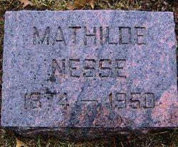 NESSE, MATHILDE - Mitchell County, Iowa | MATHILDE NESSE